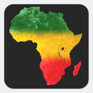 Autocollant tricolore II de l'Afrique