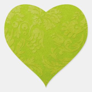 Autocollant vert de brocard de gradient