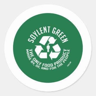 Autocollant vert de Soylent
