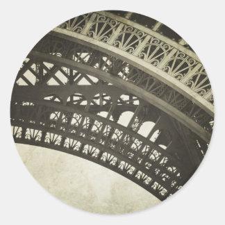 Autocollant vintage de photo de voûte de Tour