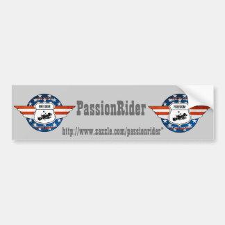 Autocollant voiture PassionRider
