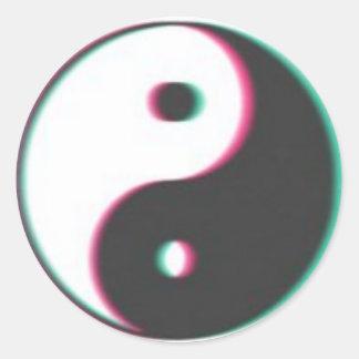 autocollant ying trippy de yang