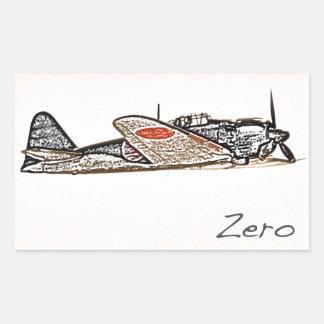Autocollant zéro de Japonais
