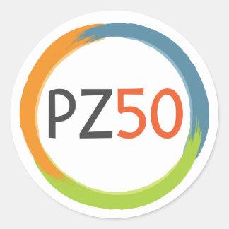 Autocollant zéro de projet - logo