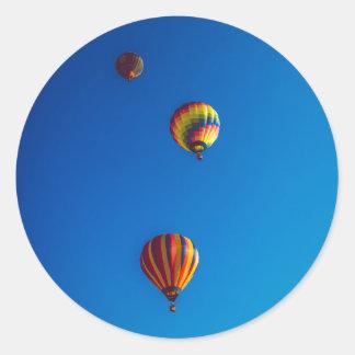 Autocollants chauds de ballons à air