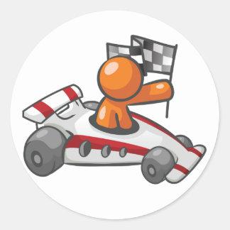 Autocollants Checkered de drapeau de voiture de
