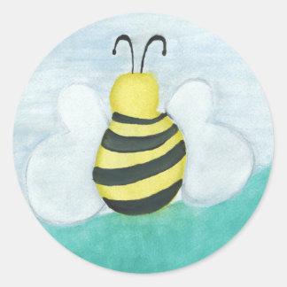 Autocollants d'abeille