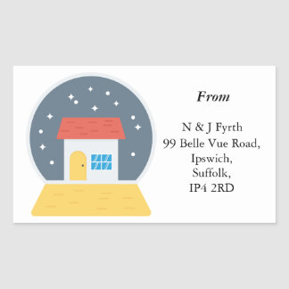 Autocollants d'adresse