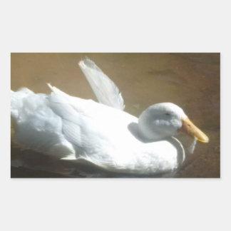 Autocollants d'affranchissement de canard de