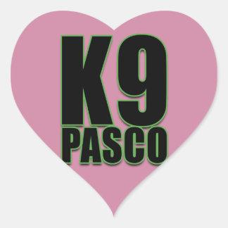 Autocollants d'amour de K9 Pasco, brillants