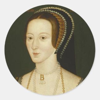 Autocollants d'Anne Boleyn