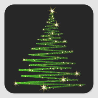 Autocollants d'arbre de Noël