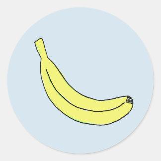 Autocollants de banane
