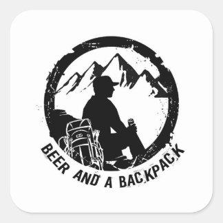 Autocollants de BeerAndaBackpack