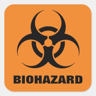 Autocollants de Biohazard
