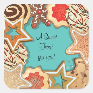 Autocollants de biscuit de sucre