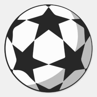 Autocollants de boule de Champions League