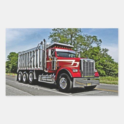 Autocollants de camion à benne basculante de CRA