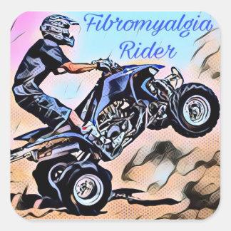 Autocollants de cavalier de fibromyalgie