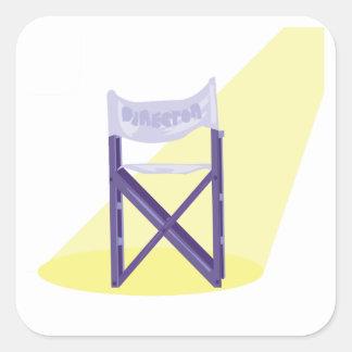 Autocollants de chaise de cinéastes