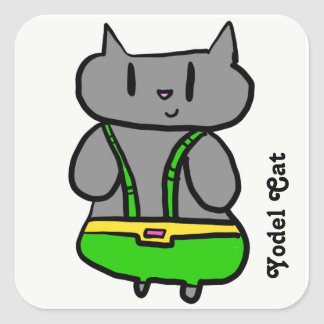 Autocollants de chat de tyrolienne