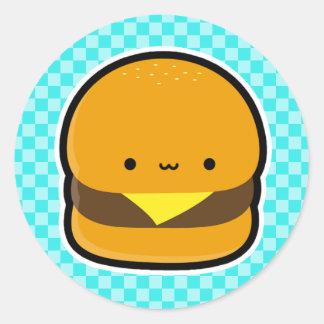 Autocollants de cheeseburger
