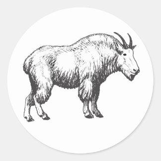 Autocollants de chèvre de montagne
