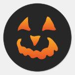 Autocollants de citrouille de Halloween (20 petits