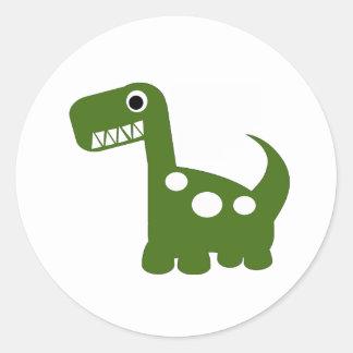 autocollants de Dino-acarides