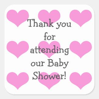 Autocollants de douche de bébé