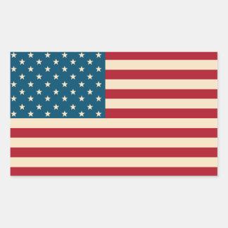 Autocollants de drapeau américain