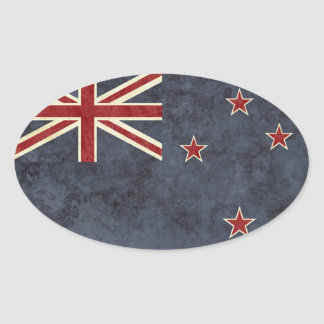 Autocollants de drapeau de la Nouvelle Zélande