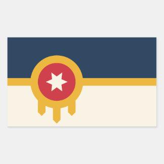 Autocollants de drapeau de Tulsa