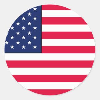 Autocollants de drapeau des Etats-Unis