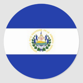 Autocollants de drapeau du Salvador
