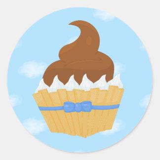 autocollants de gâteau de Charlotte