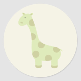 Autocollants de girafe de bébé
