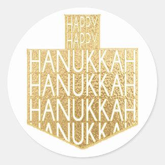 "Autocollants de Hanoukka (1 1/2"" ou 3"") ""Hanoukka"