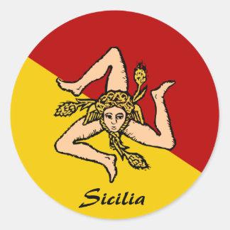 Autocollants de la Sicile