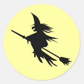 Autocollants de la silhouette   Halloween de vol