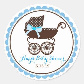 Autocollants de landau de baby shower