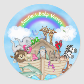 Autocollants de l'arche de Noé personnalisable
