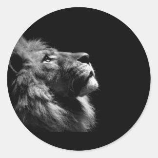 Autocollants de lion