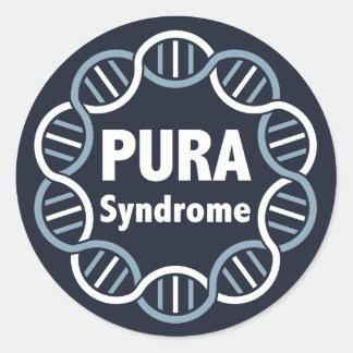 Autocollants de logo de PURA (6 par la page)