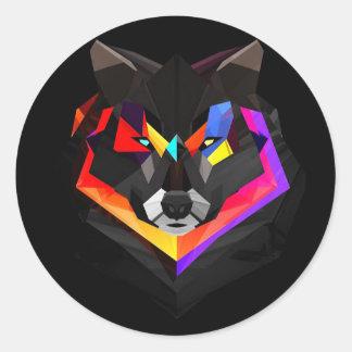 Autocollants de loup