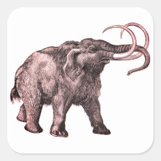 Autocollants de mammouth laineux