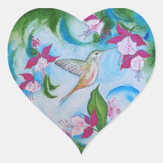 Autocollants de mariage d'enveloppe de colibri et