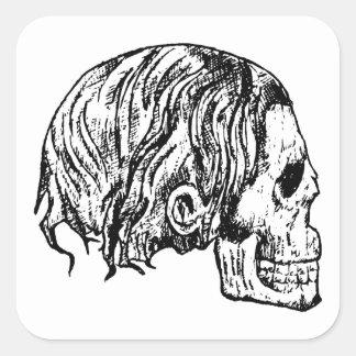 Autocollants de métaux lourds de crâne