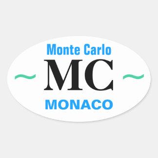 Autocollants de MONTE CARLO 4