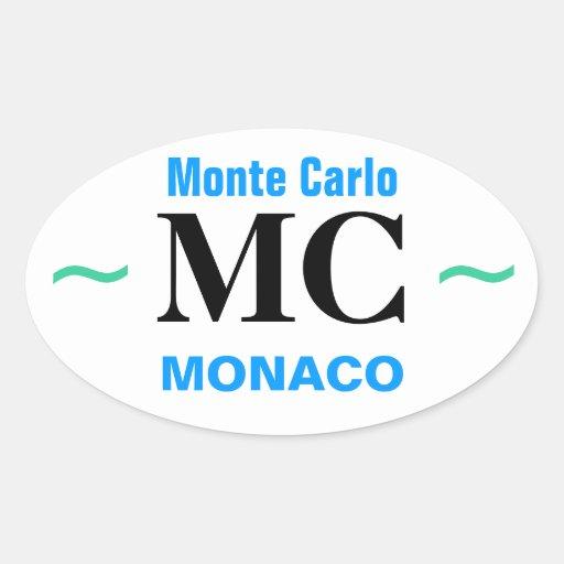 Autocollants de MONTE CARLO (4)